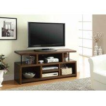 Contemporary Brown TV Console