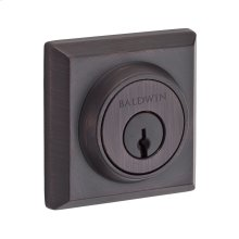 Venetian Bronze Traditional Square Reserve Deadbolt