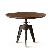 "Carnegie Adjustable Round Table 36"" Band Saw Teak"
