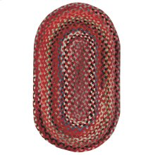 Plymouth Country Red Braided Rugs
