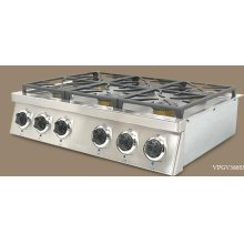 "The Vintage Professional Cooktop -Vintage 30"" Professional Cooktop"