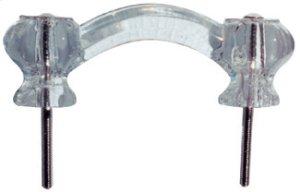 Nostalgic Warehouse - Crystal Cabinet Handle in Polished Brass Product Image