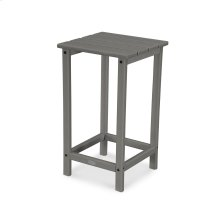 "Slate Grey Long Island 26"" Counter Side Table"