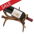 Faux Antler Wine Holder Product Image