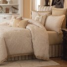 9 pc Queen Comforter Set Ivory Product Image