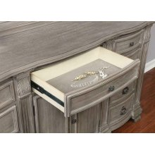 Jenna Vintage Grey Dresser