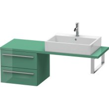 X-large Low Cabinet For Console Compact, Jade High Gloss (lacquer)