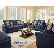 3850 - Athena Navy Sofa