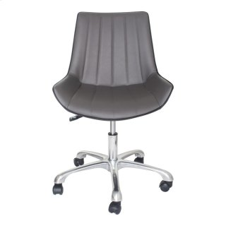 Mack Swivel Office Chair Grey