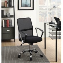 Modern Black Mesh Back Office Chair