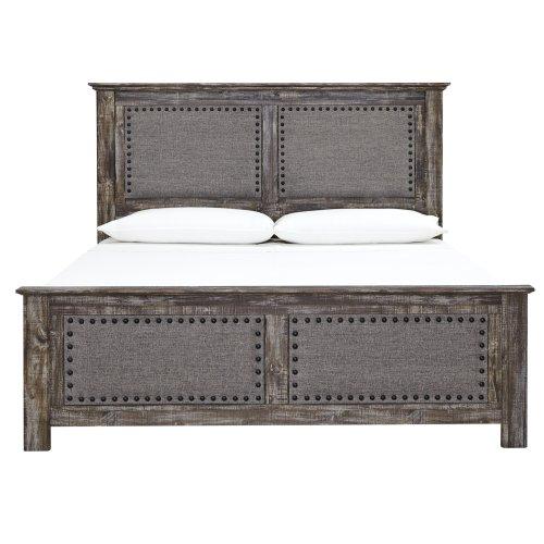 Lynnton - Rustic Brown 3 Piece Bed Set (King)