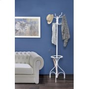 WHITE COAT RACK Product Image
