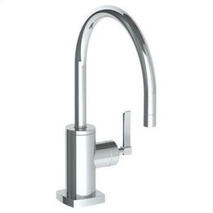 Deck Mounted 1 Hole Kitchen Faucet Product Image