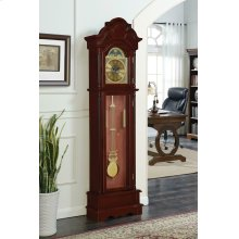 Traditional Brown Red Grandfather Clock