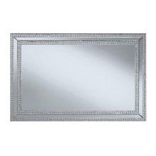 Contemporary Silver Wall Mirror