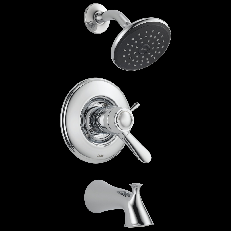 Chrome TempAssure ® 17T Series Tub & Shower Trim