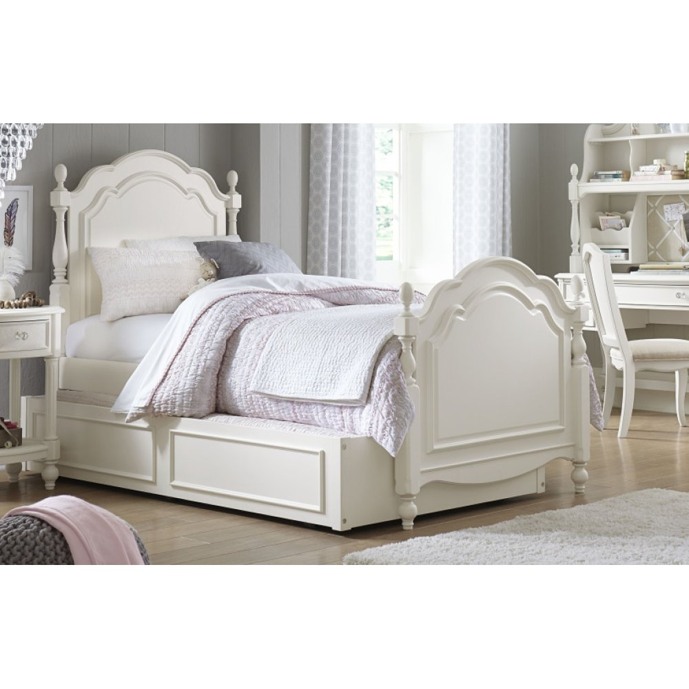 Harmony by Wendy Bellissimo Summerset Low Post Bed Twin