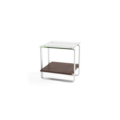 End Table 1646 in Chocolate Stained Walnut