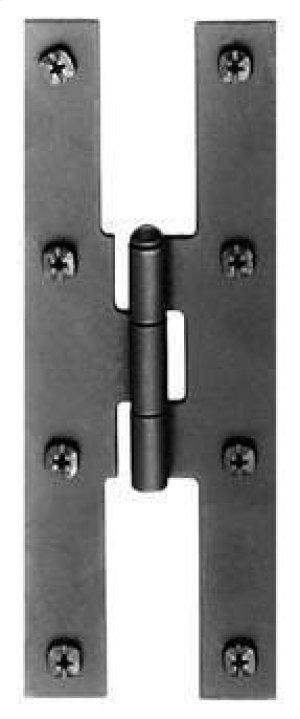H-Hinge - Smooth Iron Product Image