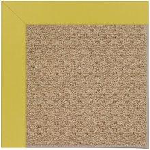 Creative Concepts-Raffia Canvas Lemon Grass Machine Tufted Rugs