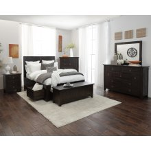 Kona Grove 3 Piece Cal King Bedroom Set: Bed, Dresser, Mirror