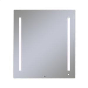 "Aio 35-1/8"" X 39-1/4"" X 1-1/2"" Lighted Mirror With Lum Lighting At 4000 Kelvin Temperature (cool Light), Dimmable, Usb Charging Ports and Om Audio Product Image"