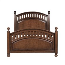 Manning Poster Footboard with Slats Full