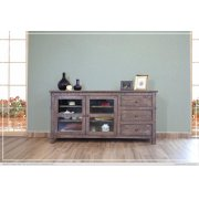 "70"" TV Stand w/3 Drawers, 2 door w/2 shelves Product Image"