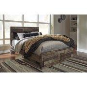 Derekson - Multi Gray 4 Piece Bed Set (Queen) Product Image