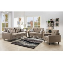 Kourtney Taupe Loveseat