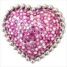 Heart with Swarovski Crystals