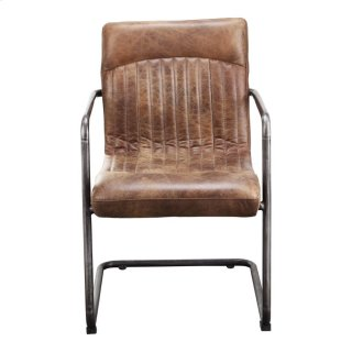 Ansel Arm Chair Light Brown-m2