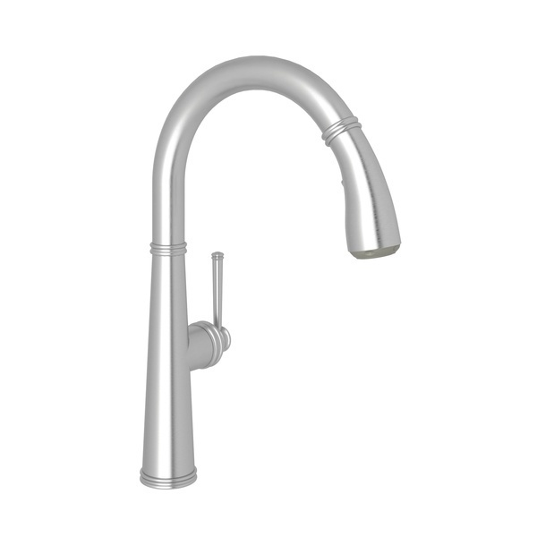 Stainless Steel 1983 Pull-Down Kitchen Faucet with 1983 Metal Lever