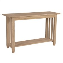 BJ6S Mission Sofa Table