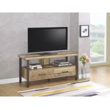 """Rustic Weathered Pine 48"""" TV Console"""