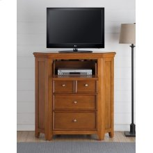CHERRY OAK CORNER TV CONSOLE