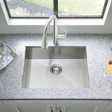 "Edgewater 25x22"" ADA Single Bowl Stainless Steel Kitchen Sink  American Standard - Stainless Steel"