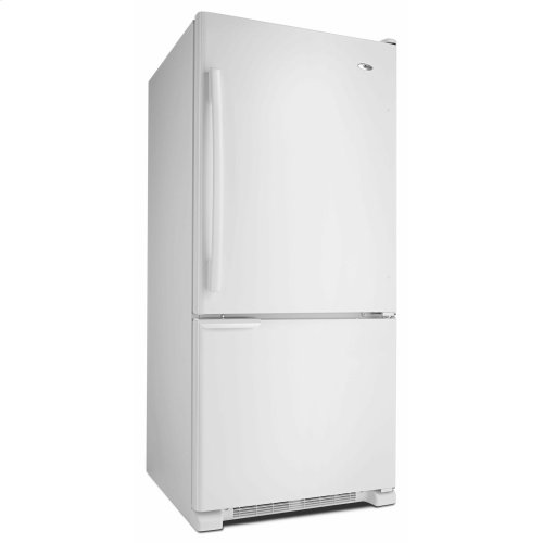 29-inch Wide Bottom-Freezer Refrigerator with Garden Fresh Crisper Bins -- 18 cu. ft. Capacity - White