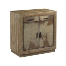 Hidden Treasures Vellum Two Door Cabinet