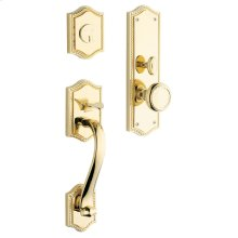 Lifetime Polished Brass Bristol Entrance Trim