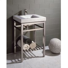 Slab Vanity - 24 Inch Stainless Stand 24 / Stainless Steel