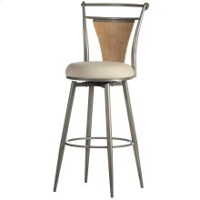 London Swivel Bar Height Stool