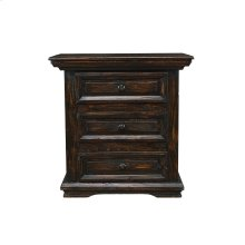 Santa Fe Cowboy 3-Drawer Nightstand