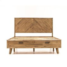 Camden King Bed Sand