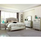 Bling Game Metallic Queen Bed Product Image