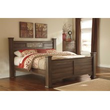 Allymore - Brown 4 Piece Bed Set (King)