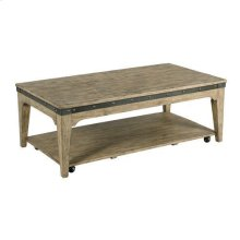 Plank Road Artisans Rect Cocktail Table