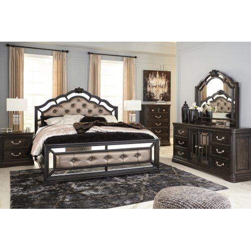 Quinshire - Dark Brown 2 Piece Bedroom Set