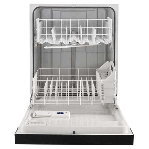 Heavy-Duty Dishwasher with 1-Hour Wash Cycle Stainless Steel