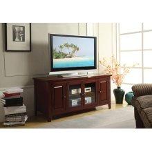 CHERRY FINISH TV STAND